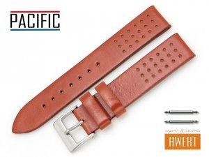 PACIFIC 18 mm pasek skórzany W38 brązowy