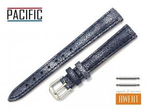 PACIFIC 12 mm pasek skórzany W123 granatowy