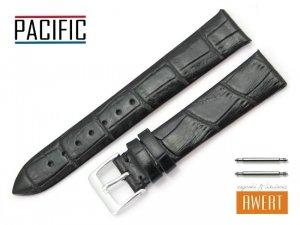 PACIFIC 18 mm pasek skórzany W09 czarny