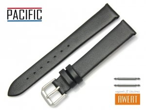 PACIFIC 16 mm pasek skórzany W86 czarny