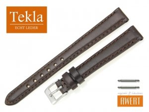 TEKLA 12 mm pasek skórzany PT68 brązowy