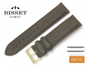 BISSET 22 mm pasek skórzany BS108