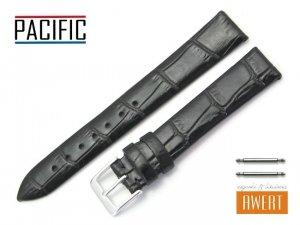 PACIFIC 16 mm pasek skórzany W09 czarny