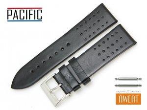 PACIFIC 24 mm pasek skórzany W38 czarny