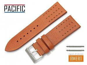 PACIFIC 26 mm pasek skórzany W38 brązowy