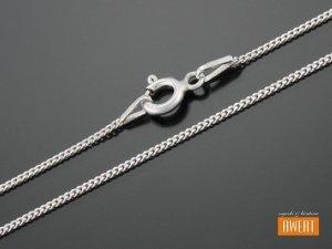 PANCERKA łańcuszek srebrny 45 cm / 1 mm