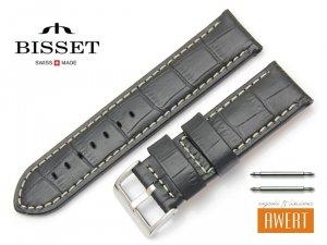 BISSET 24 mm pasek skórzany BS164
