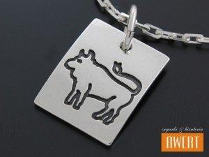 Zodiak BYK znak zodiaku, srebro