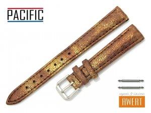 PACIFIC 14 mm pasek skórzany W123 brązowy