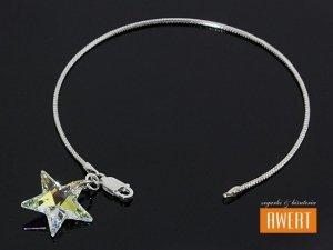 STAR CRYSTAL AB BANGLE bransoletka na ręke z kryształami SWAROVSKI