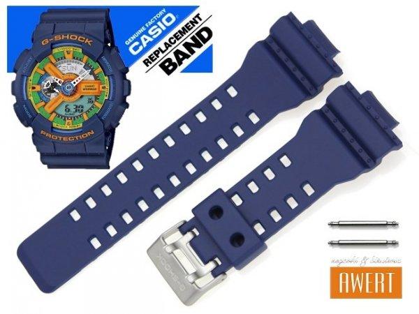 CASIO GA-110FC-2A GAC-100AC-2A oryginalny pasek 16 mm 10400831