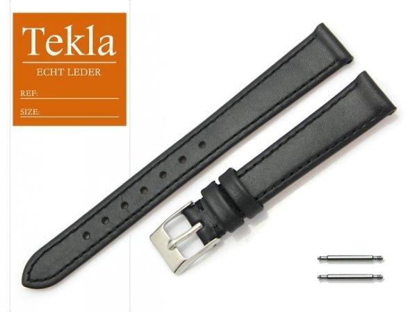 TEKLA 14 mm pasek skórzany PT69 czarny