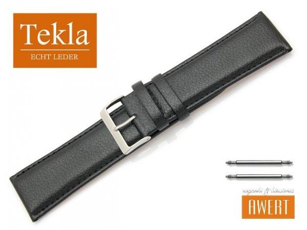 TEKLA 28 mm XL pasek skórzany PT10 czarne szycie