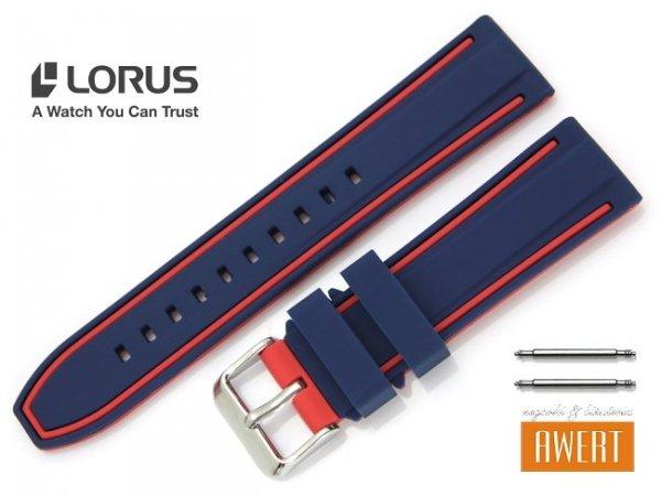 LORUS 22 mm oryginalny pasek 956039 RM389EX9