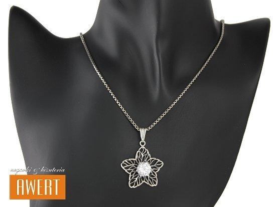 ANELI CRYSTAL srebrny komplet z cyrkoniami