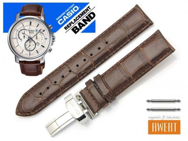 CASIO BEM-506BL-1A BEM-506GL-1A BEM-506L-7A oryginalny pasek 20 mm 10341748