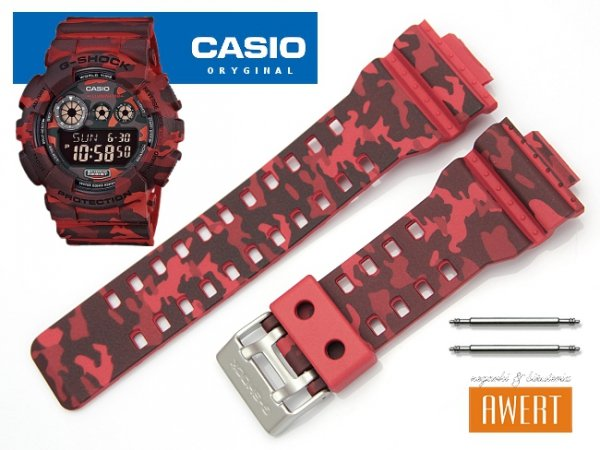 CASIO GD-120CM -4 oryginalny pasek 16 mm