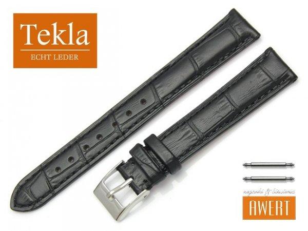 TEKLA 16 mm pasek skórzany PT41 czarny