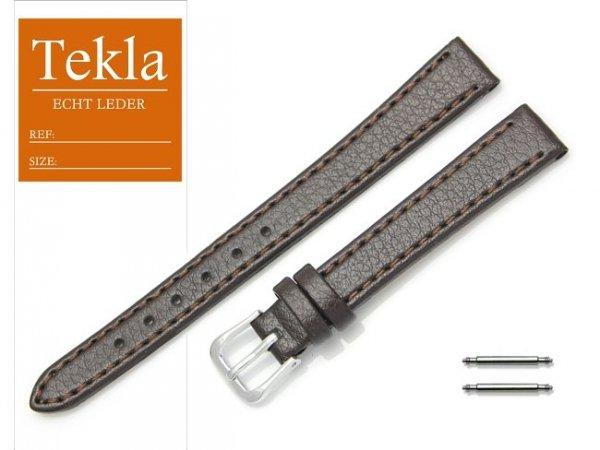 TEKLA 12 mm pasek skórzany PT70 brązowy