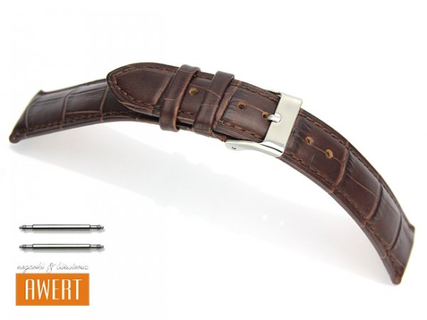 TEKLA 24 mm XXL pasek skórzany PT41 brązowy