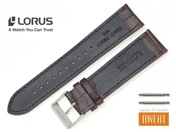 LORUS 22 mm oryginalny pasek RG082X