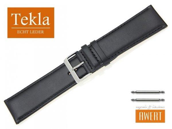 TEKLA 26 mm XL pasek skórzany PT68 czarny