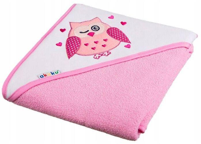 Ręcznik dla niemowlaka z kapturkiem 100x100