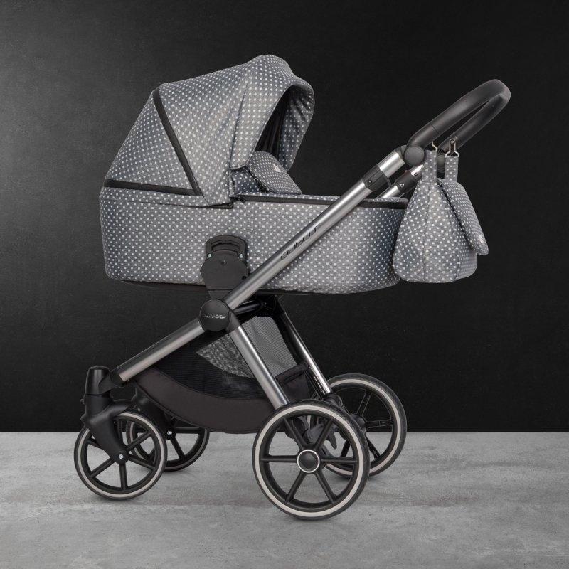 Wózek dziecięcy Riko Qubus Crystal wielofunkcyjny  3w1