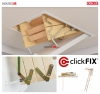 Bodentreppe Dolle CLICKFIX 36 MINI GOLD Holz