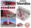 120g Unterspannbahn mdm Ventia Iron 120g/m² Reißkraft 245/140 Sd 0,03 Wasserdampfdurchlässigkeit 1400g -40/+80 ° C Unterspannbahn (75m²) www.house-4u.eu