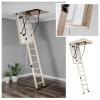 OUTLET: Bodentreppe OMAN POLAR 120x70 X280 U=0,36 Energiesparende Treppe aus Holz