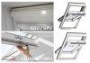 Dachfenster Kombi-Pakete VELUX GLU 0051 Schwingfenster-Set Kunststoff-Fenster GLU 0051 + Eindeckrahmen EDZ 0000 mit Außenrollladen SSL 0000S  INTEGRA® Solar-Rollladen Aluminium, alternativen für THERMO 59