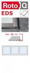 Kombi-Eindeckrahmen Roto Q-4 EDS 3/1 Eindeckrahmen - für Flachdecken und profilierte Eindeckmaterialien bis max. 35 / Dachziegel oder Bitumenschindeln Schiefer www.house-4u.eu