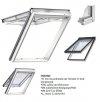 VELUX Dachfenster GPU 0068 Kunststoff Klapp-Schwingfenster 3-fach Standard-Verglasung Uw= 1,1 ENERGIE Aluminium  mit Riesen-Öffnungswinkel