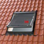 OUTLET: Markise Velux MHL SK00 114x__ Hitzeschutz 5060 transparent schwarz