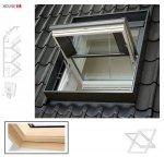VELUX Dachfenster GGL 307040 Holz Rauchabzugsfenster klar lackiert THERMO Aluminium Rauch- und Wärmeabzugs-Anlagen (RWA)
