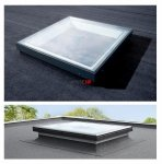 VELUX Flachdachfenter Basis-Element CFP 0073QV