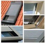 Außenrollladen Original Fakro ARZ Solar Solar-Rollläden Für Dachfenster: FEL, FEP, FEU, FPP, FPT, FPU, FTL, FTP, FTT, FTU, PPP, PTP, TLP – Solar gesteuert