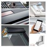 VELUX Dachfenster Solarfenster INTEGRA ® Kunststoff GGU 006630 ENERGIE PLUS