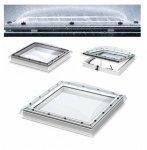 VELUX Flachdach-Fenster LICHTKUPPEL Klarer Acryl transparente Kuppel ISD 0000- Typ CFP/CVP/CXP/CSP