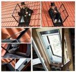 Ausstiegsfenster VELUX GVK 0000Z 46x61 Dachausstieg für Kalträume ungedämmt Schwarz Dachfenster Dachausstieg Ausstieg Dachluke