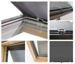 Anti-Hitze-Markise MUR Contrio Hitzeschutz-Markise für VELUX Dachfenster