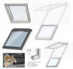 VELUX Dachfenster GIU 0070 Kunststoff Zusatzelement Dachschräge THERMO Aluminium Dachschräge Polyurethan / Kunststoff mit Holzkern