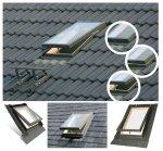 Ausstiegsfenster OPTILOOK WGT 46x55 / 46x75 für ungeheizte Räume