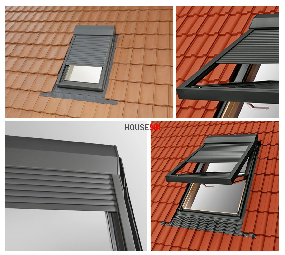 Au enrollladen elektrisch shr elektro au enrollladen f r rooflite velux fakro optilight - Velux dachfenster elektrisch nachrusten ...
