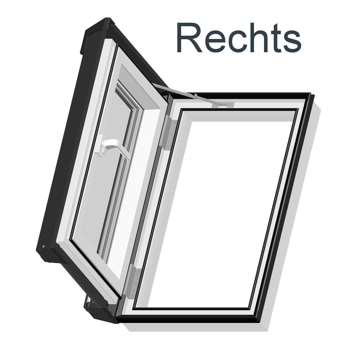 Ausstiegsfenster Dachluke Dachausstieg Skylight Velux GXU Dachfenster Kunststoff
