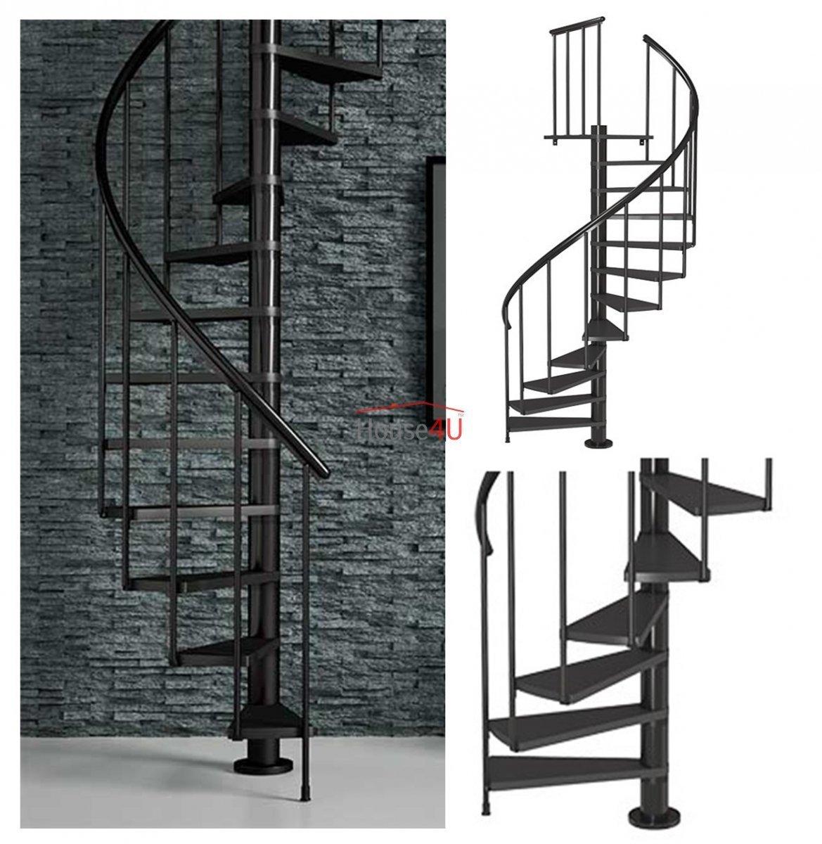 Treppenschutzgitter Spindeltreppe