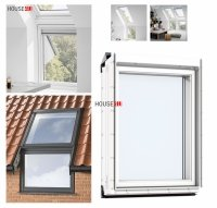 VELUX Dachfenster Zusatzelement Wand VIU 0070 THERMO Polyurethan, Aluminium