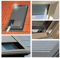 Außenrollladen Fakro ARZ Solar Solar-Rollläden
