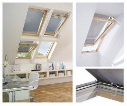 Anti-Hitze-Markise MIR / MIA Contrio Hitzeschutz-Markise nur für RoofLITE Dachfenster
